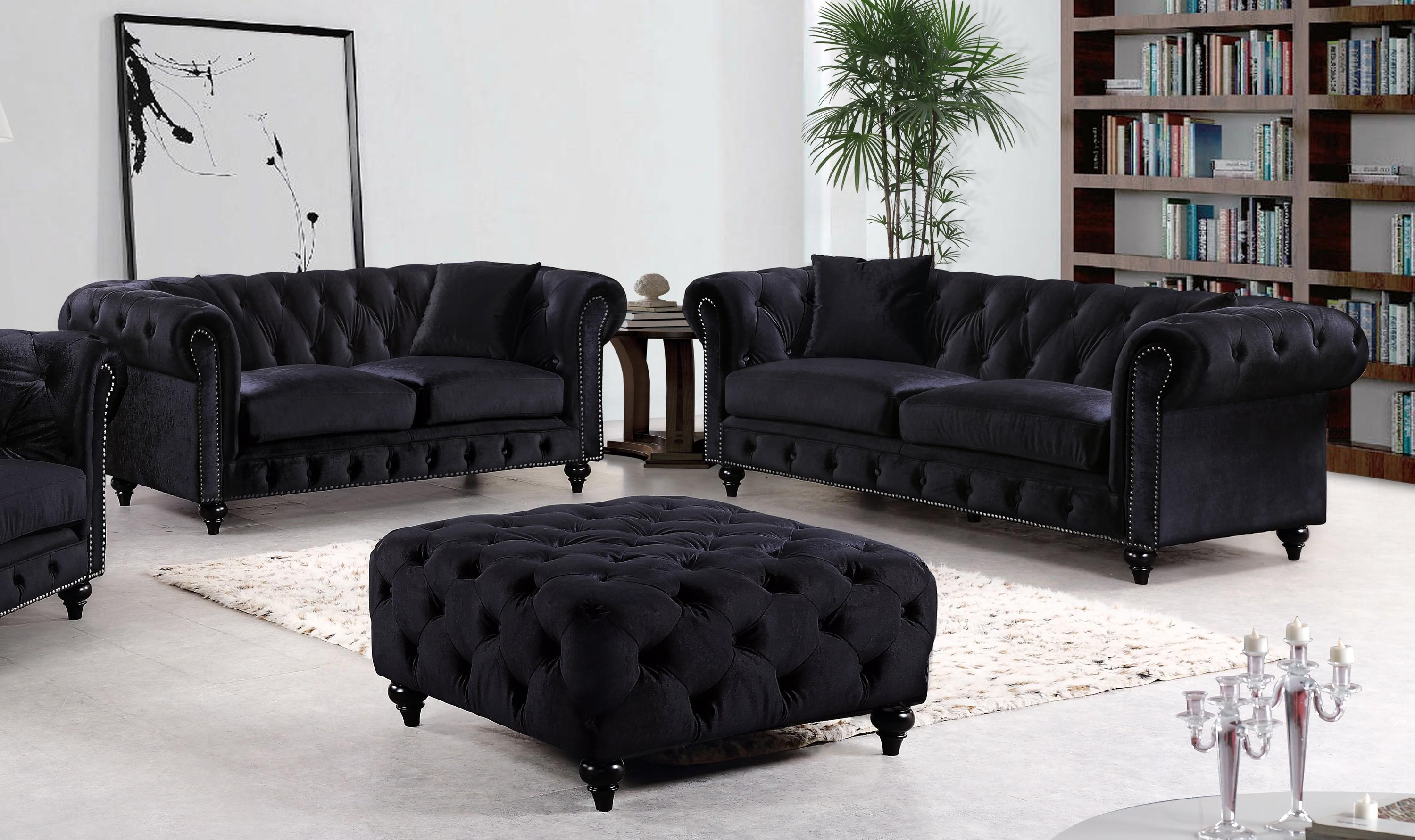 20 Collection Of Black Velvet Sofas Sofa Ideas