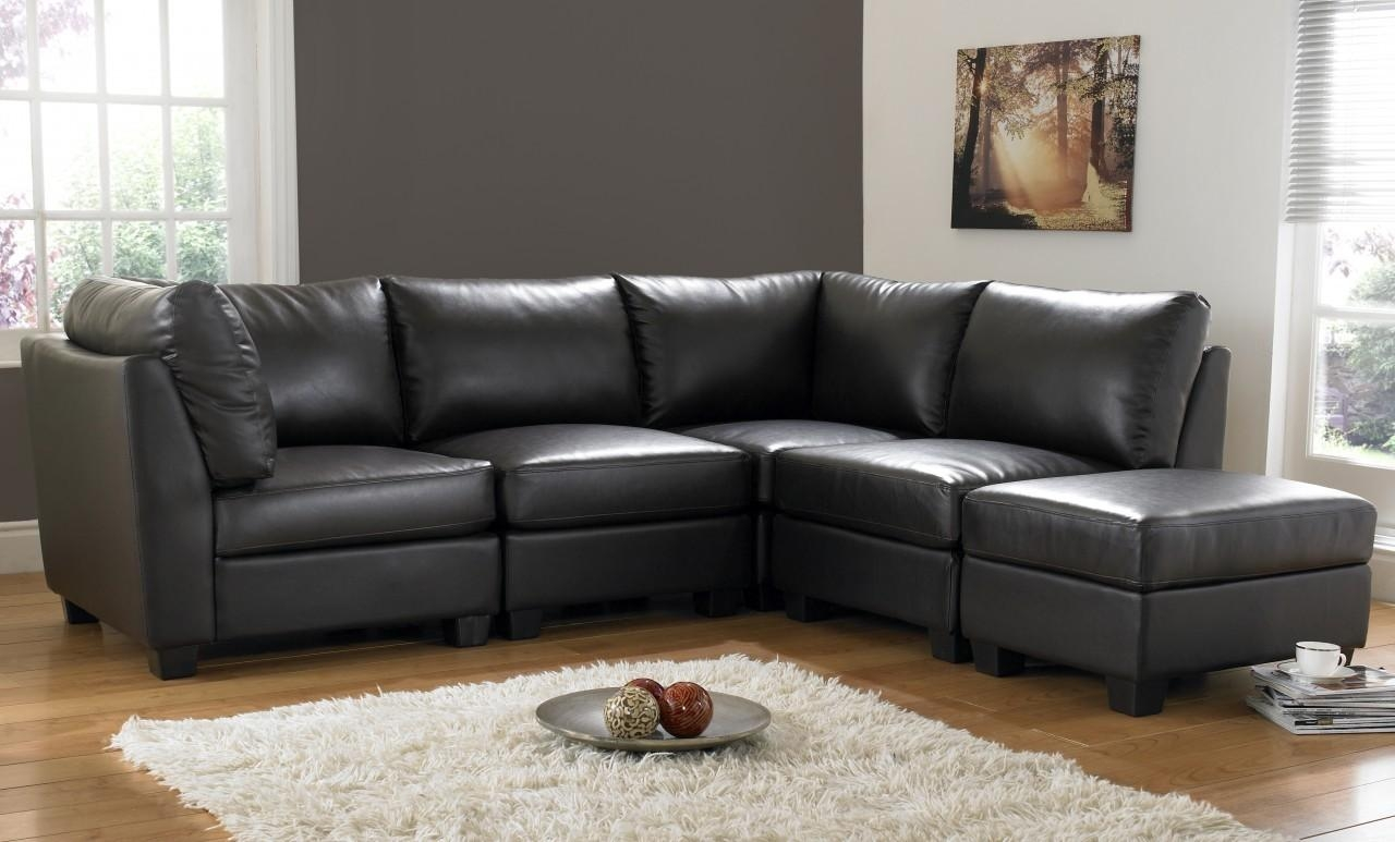 real leather corner sofas uk sofa seat foam online india black decorate your home with