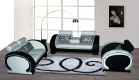 21 Inspirations White and Black Sofas | Sofa Ideas