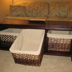 Sofa Table Storage Baskets Chaise Beds 25 Collection Of Side Tables With Storages Ideas