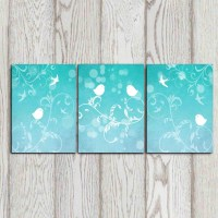 20 Best Collection of Teal and Gold Wall Art | Wall Art Ideas