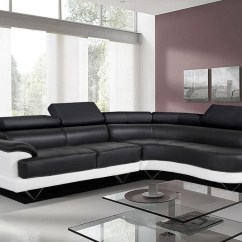 Cosmo Black Leather Sofa Slip Covered Sectional 22 43 Choices Of Large Corner Sofas Ideas