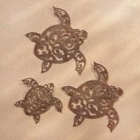 20+ Choices of Sea Turtle Metal Wall Art   Wall Art Ideas