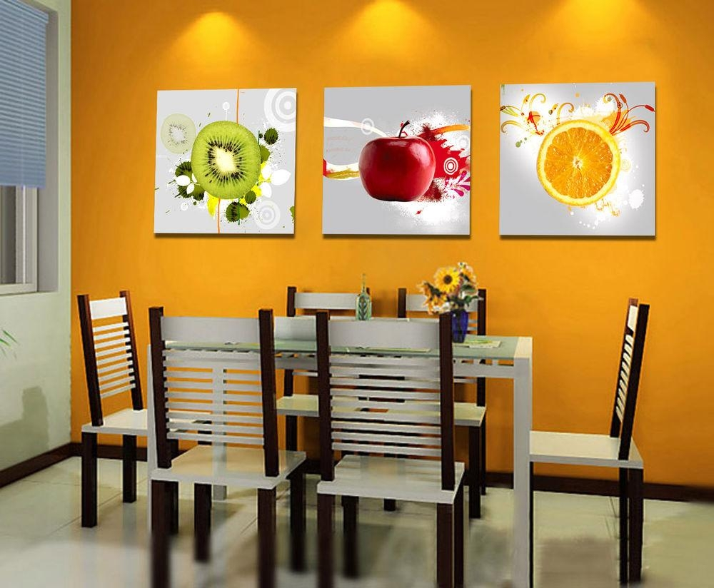 20 Ideas of Canvas Wall Art for Dining Room  Wall Art Ideas