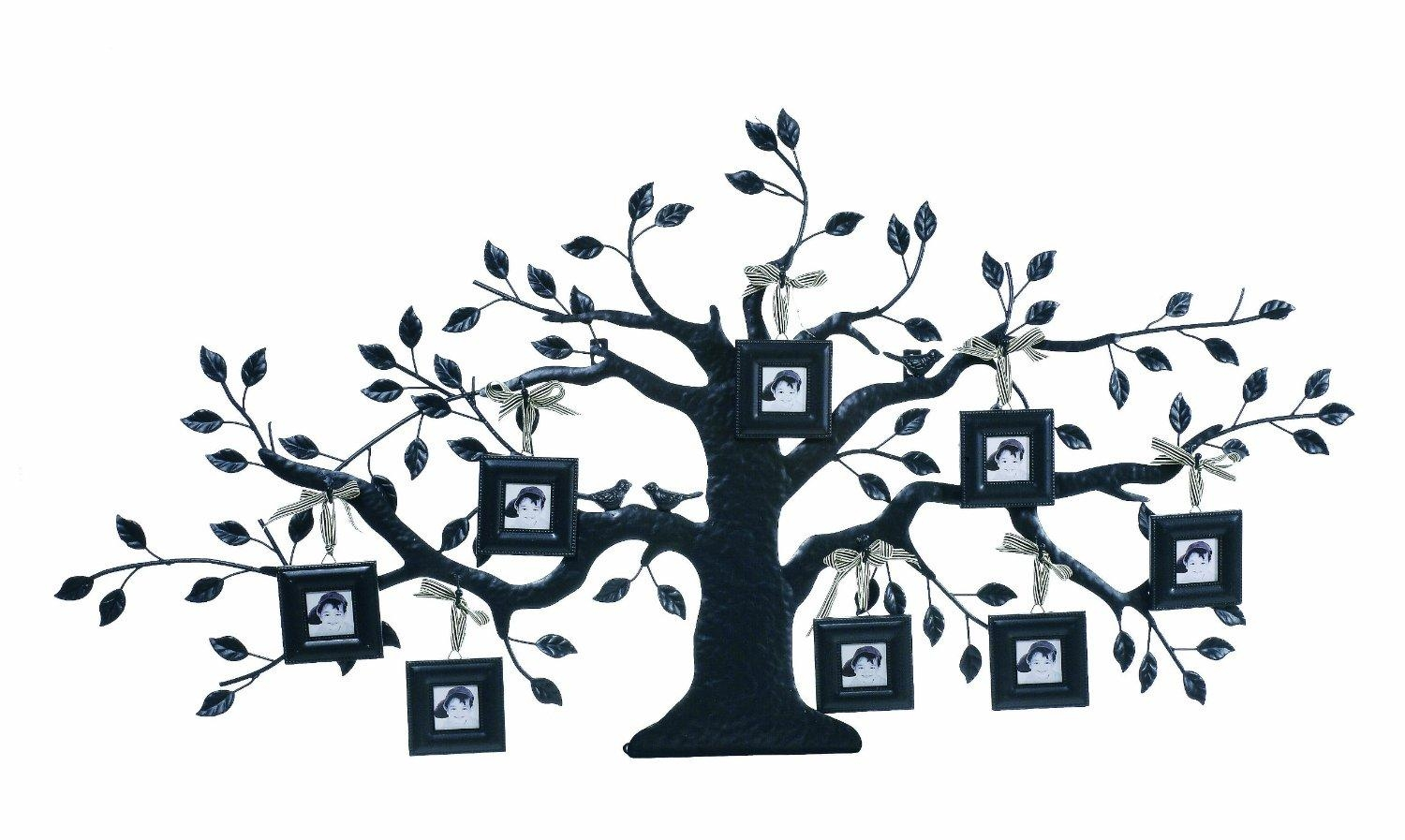 20 Collection Of Iron Tree Wall Art