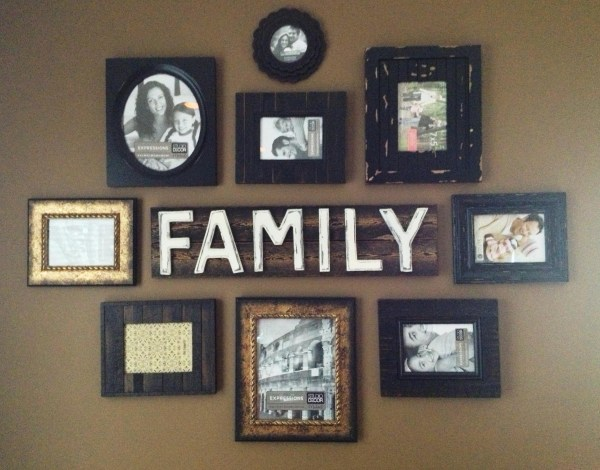 Pinterest Family Wall Collage