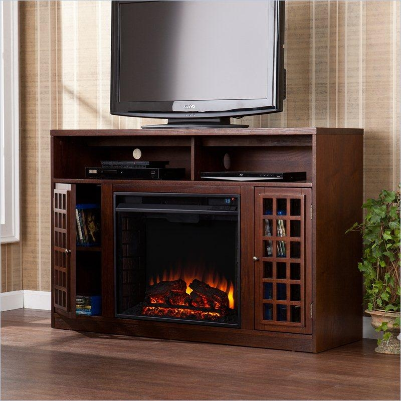 50 Inch Tv Stand Fireplace
