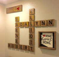 20 Top Scrabble Names Wall Art