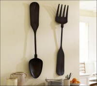 20+ Choices of Large Spoon and Fork Wall Art | Wall Art Ideas