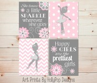 20 Ideas of Wall Art for Little Girl Room