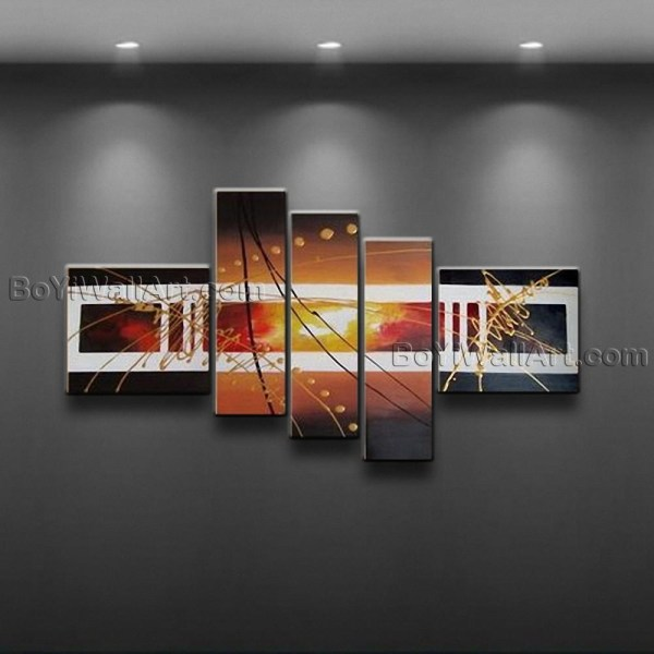 20 Best Five Piece Wall Art Wall Art Ideas