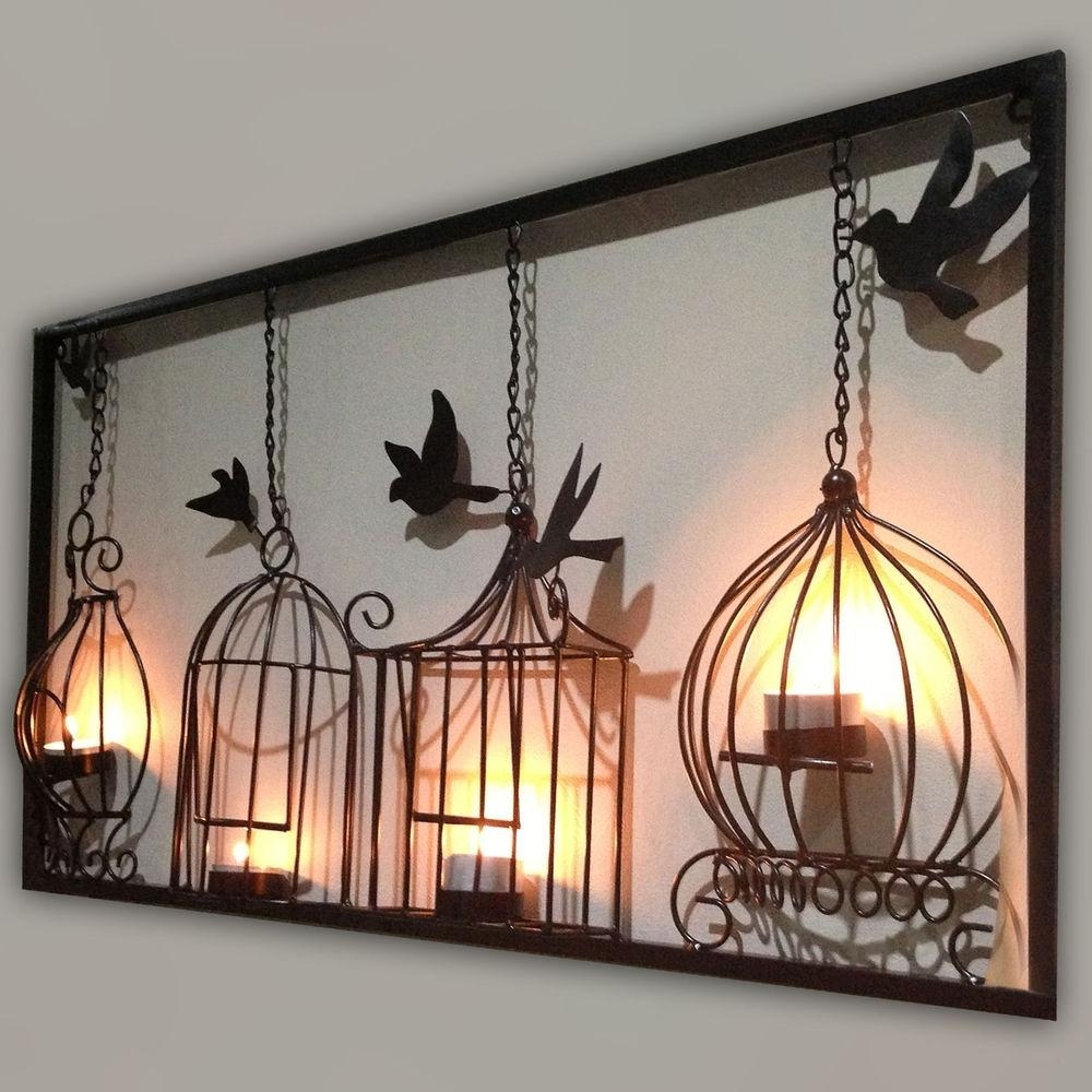 20 Best Collection Of Wood And Iron Wall Art  Wall Art Ideas