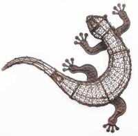 Wall Art Ideas: Gecko Outdoor Wall Art (Explore #10 of 20 ...