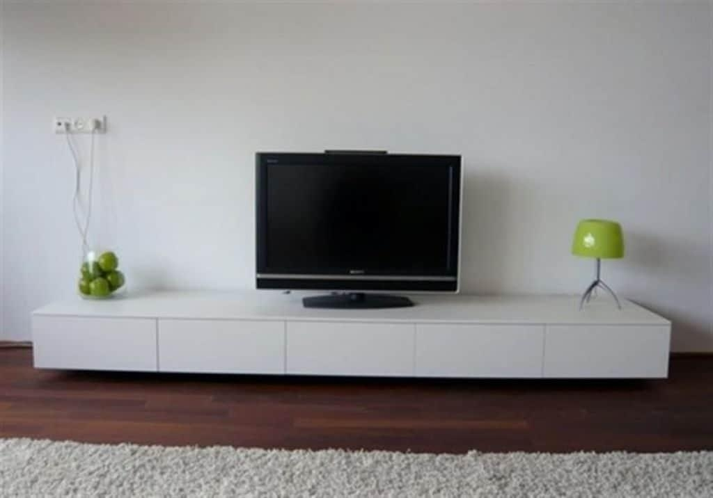20 Collection Of Floating Glass Tv Stands