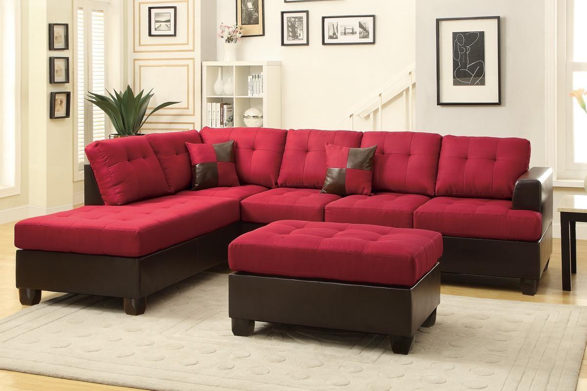 red microfiber sofa 2 osobowa z funkcja spania agata meble 21 best ideas sectional sofas