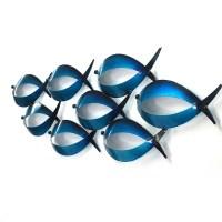 20 Ideas of Metal School of Fish Wall Art | Wall Art Ideas
