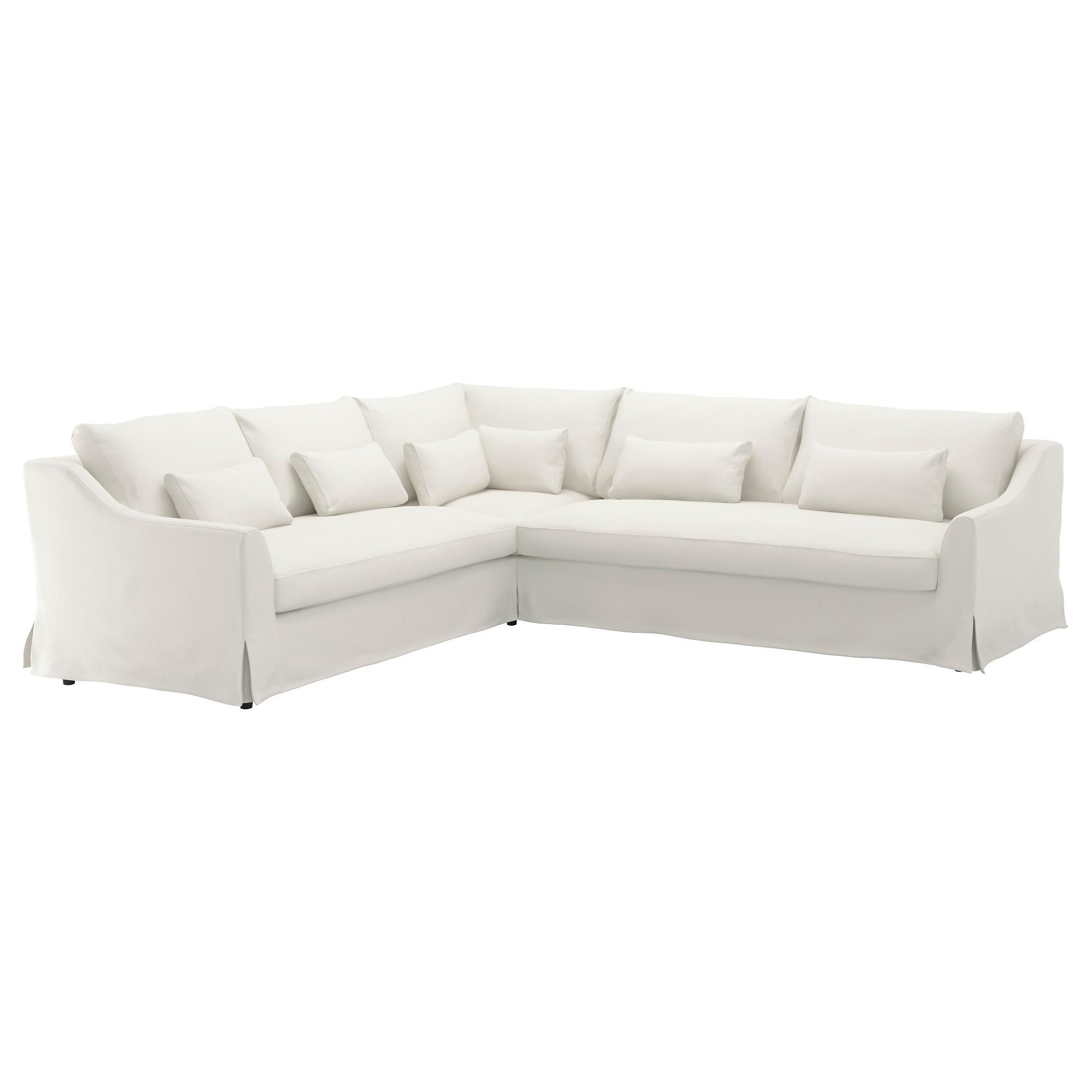 white fabric sectional sofa with chaise correct pillow size for 20 photos sofas ideas