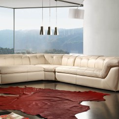 Cream Full Leather Chaise Sectional Sofa Tan 22 Inspirations Sofas Ideas