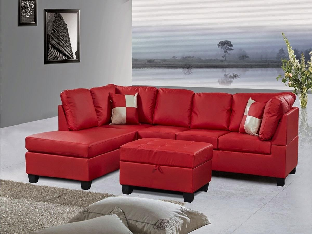 red microfiber reclining sofa brown leather decorating living room 21 best ideas sectional sofas