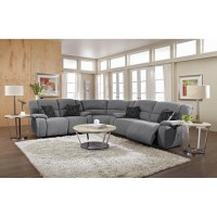 21 Ideas of Gray Leather Sectional Sofas | Sofa Ideas
