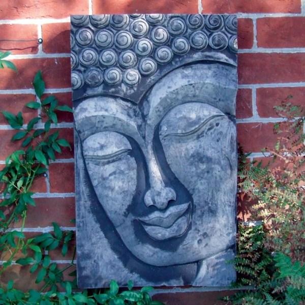 Outdoor Buddha Wall Art