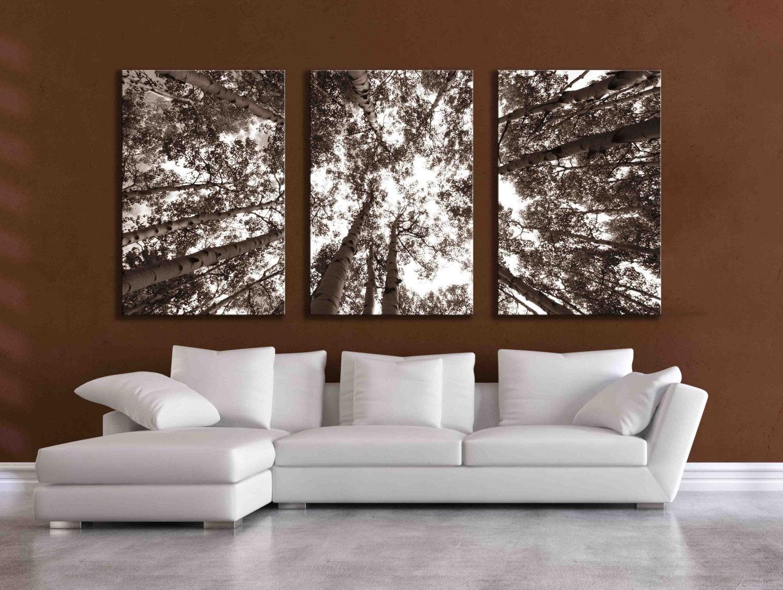 20 Inspirations Metal Pine Tree Wall Art