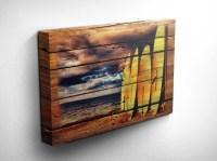 Wood Surfboard Wall Decor - Wall Decor Ideas