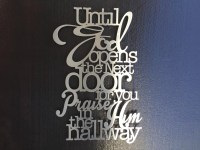 20 Photos Metal Wall Art Quotes | Wall Art Ideas