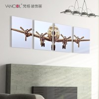 20 Collection of Metal Airplane Wall Art | Wall Art Ideas