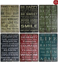 20 Photos Wooden Word Art for Walls | Wall Art Ideas