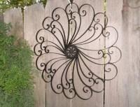 20 Best Ideas Outdoor Wrought Iron Wall Art