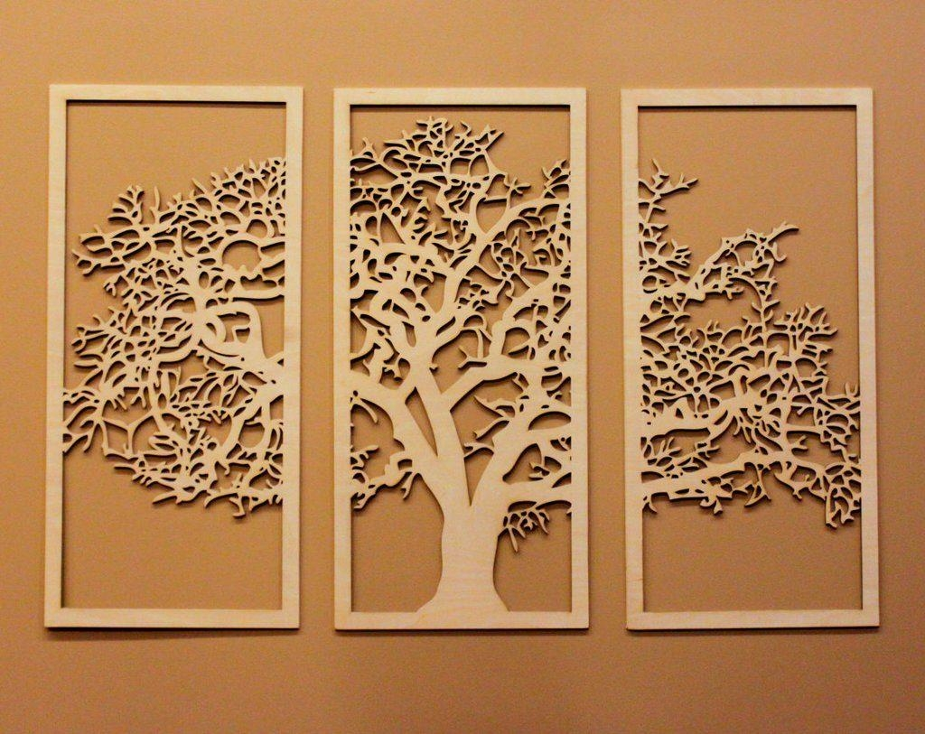 20 Top Tree of Life Wood Carving Wall Art