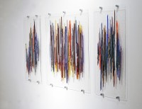 20 Photos Fused Glass Art for Walls | Wall Art Ideas