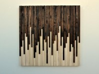 20 Inspirations Stained Wood Wall Art | Wall Art Ideas