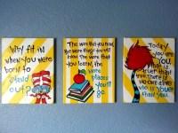 20 Best Ideas Dr Seuss Canvas Wall Art | Wall Art Ideas
