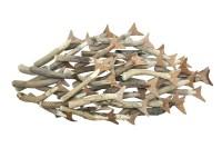 20 Ideas of Metal School of Fish Wall Art   Wall Art Ideas