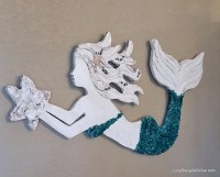 20 Ideas of Mermaid Wood Wall Art | Wall Art Ideas