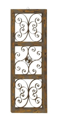 20 Ideas of Iron Scroll Wall Art