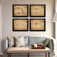 Vintage Aviation Wall Decor  Shelly Lighting