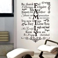 20 Top Family Sayings Wall Art