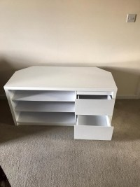 20+ Choices of Corner Tv Unit White Gloss | Tv Cabinet And ...