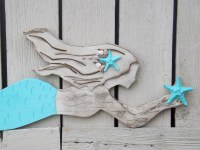 20 Best Wooden Mermaid Wall Art | Wall Art Ideas