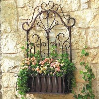 20 Best Ideas Outdoor Wrought Iron Wall Art | Wall Art Ideas