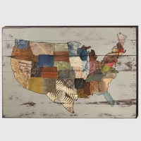 20 Collection of Usa Map Wall Art | Wall Art Ideas