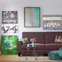 15 Best Ideas Fabric Decoupage Wall Art   Wall Art Ideas