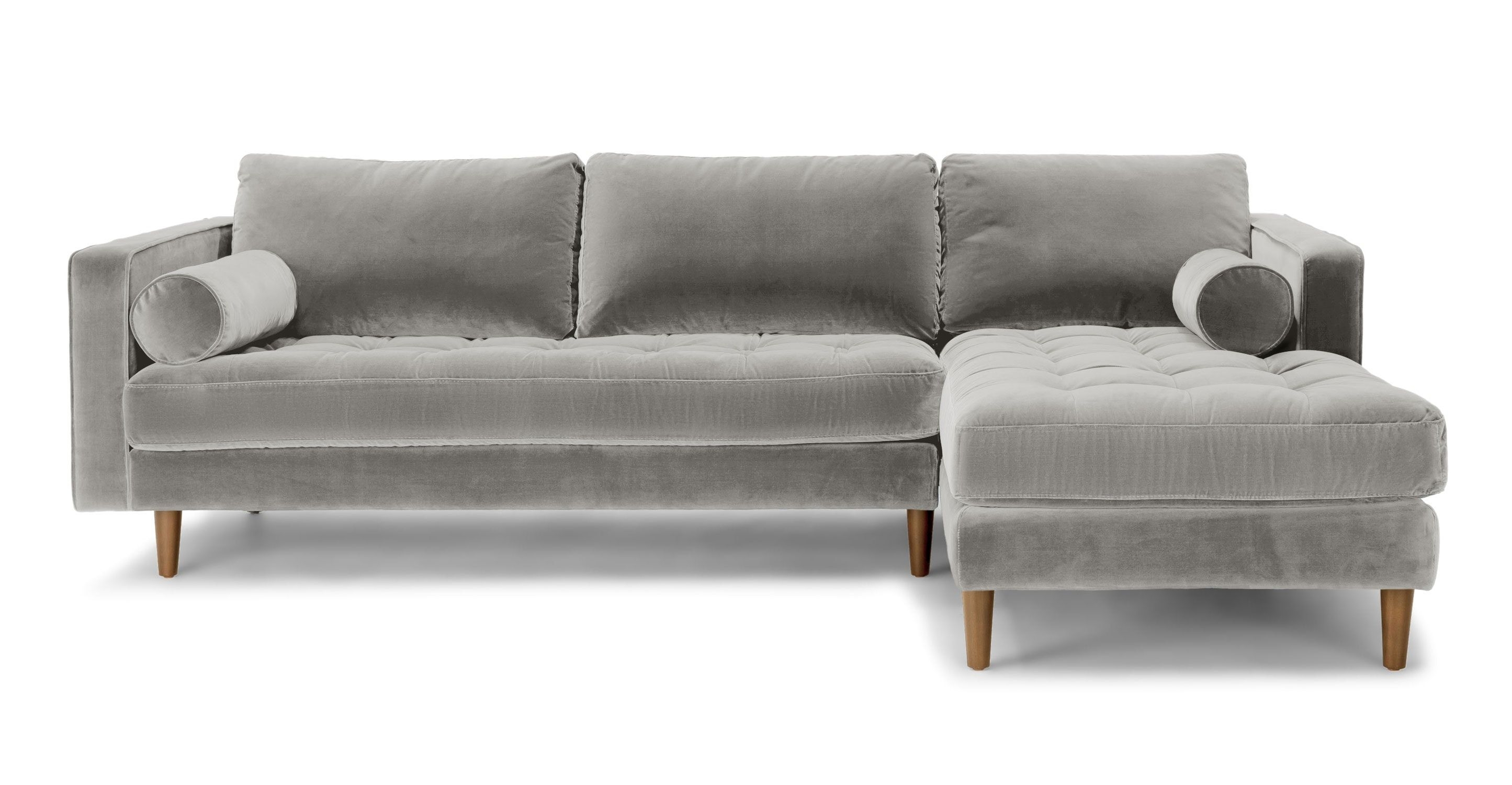 abbie right chaise sectional sofa with large cushions by england ottoman canada 10 collection of regina sofas ideas