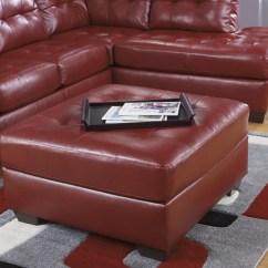 Red Leather Sectional Sleeper Sofa Henri Fabric Combination 10 Collection Of Sectionals With Ottoman