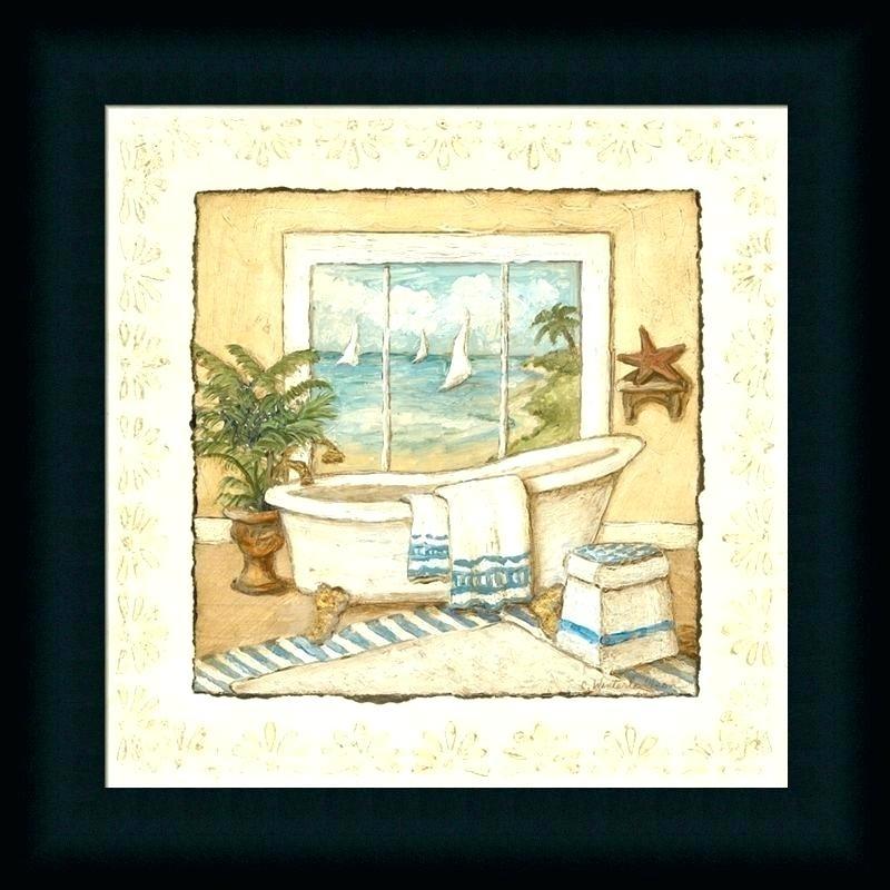 15+ Choices of Framed Art Prints for Bathroom