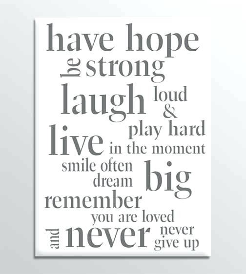 2018 Latest Canvas Wall Art Funny Quotes
