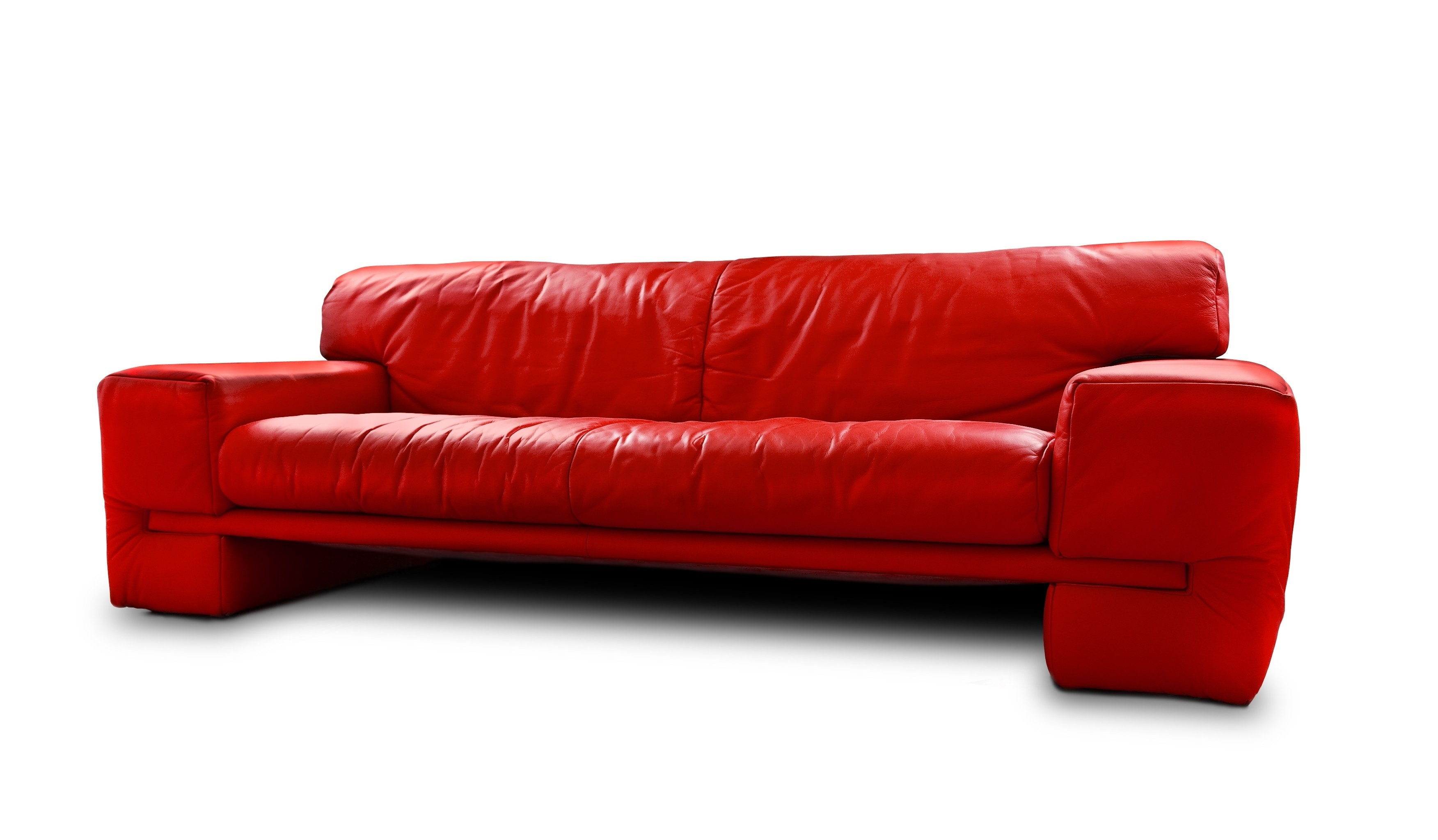 red leather sleeper sofa wooden outdoor 12 photos sofas ideas